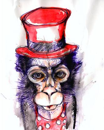 «Affen-Orakel II»