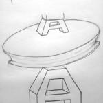 Mediatopia-Logo-Skizzen